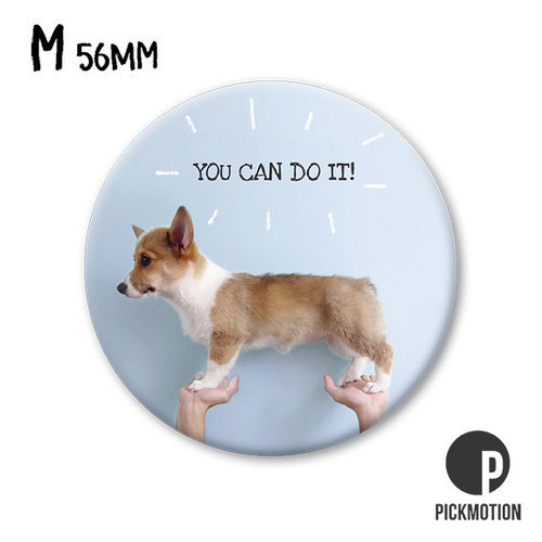 Pickmotion - You can do it, tasapainoileva koira magneetti, Putinki