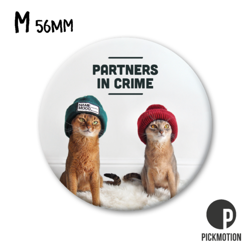 Pickmotion - Partners in crime, kissat magneetti, Putinki