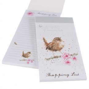Wrendale Designs - Little Tweets magneettinen ostoslista